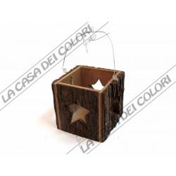 LANTERNA STELLE - 10x10x10 cm - cod. 1205 - 1 PEZZO