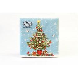 IHR - TOVAGLIOLI LUNCH - PETITE CHRISTMAS TREE - 33x33cm - 20 PZ - L531249 - N66