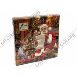 AMBIENTE - TOVAGLIOLI LUNCH - CHRISTMAS EVE- 33x33cm - CONFEZIONE 20 PZ