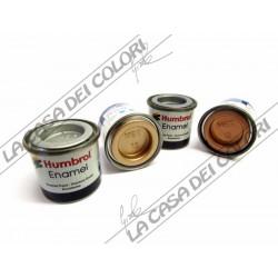 HUMBROL ENAMEL - METALLIC - 14 ml - SMALTO PER MODELLISMO - COLORI METALLICI