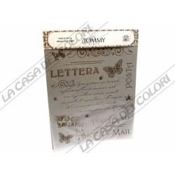 TOMMY ART - STENCIL 34x38cm - STE040 - POST CARD - POST CARD
