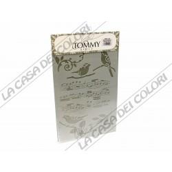 TOMMY ART - STENCIL 21x30cm - SMX818 - NOTE MUSICALI