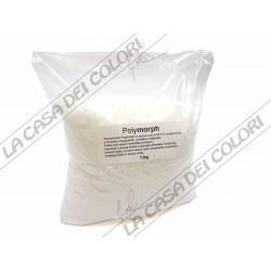 WHITEMORPH - 4 kg - BIANCO - PLASTICA TERMOPLASMABILE - PLASTICA MODELLABILE - POLYMORPH