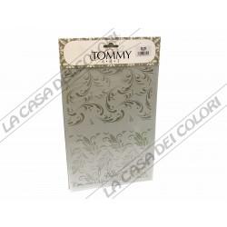 TOMMY ART - STENCIL 21x30cm -SP150 - RICCIOLI