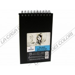 CANSON - MIX MEDIA ARTBOOK  - 14x21,6cm - CARTA 224 g/mq