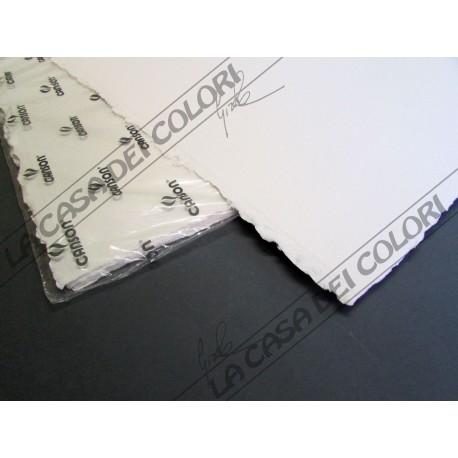 CANSON - MOULIN DU ROY - 640 g/mq - GRANA SATINATA - 56x76cm - 1 FG -COTONE 100%
