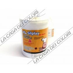 PROCHIMA - SILPLAY 184/30 1:1 - 1 kg - GOMMA SILICONICA PER USO ALIMENTARE