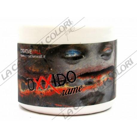 OXXIDO BASE RAME - 250 ml - PITTURA ALL'ACQUA PER EFFETTO RUGGINE / CORTEN