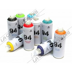 MTN MONTANA 94 - SPRAY PAINT CAN - COLORI A SCELTA - 400 ml - OPACO