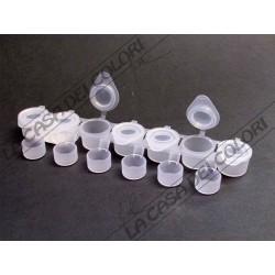 CONTENITORE ERMETICO -  7 CONTENITORI DA 5 ml + 6 DA 2 ml