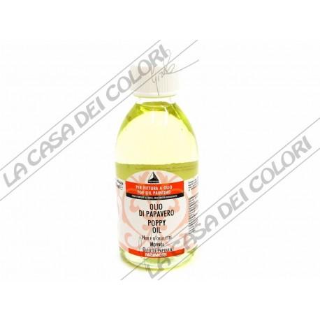 MAIMERI - 656 OLIO DI PAPAVERO - 250 ml - AUSILIARI X PITTURA AD OLIO