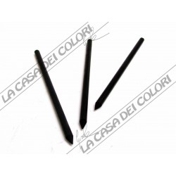 CRETACOLOR - 260 12 BLACK CHALK - MINE SFUSE DIAM. 5,6