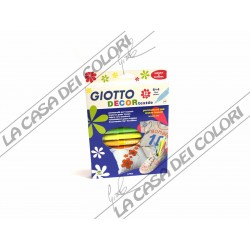 GIOTTO - DECOR TEXTILE - CONFEZIONE 12 COLORI