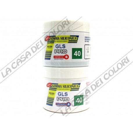 PROCHIMA - GLS-PRO 40 - 1 kg - SHORE A 40 - GOMMA SILICONICA LIQUIDA