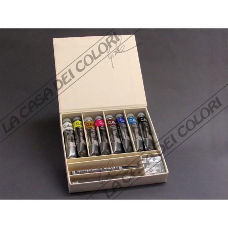 MAIMERI OLIO CLASSICO - SET 8 TUBI 20 ml + GRAFITE LYRA + GOMMA PANE