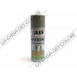 TALKEN - SPRAY - ANODAL - COLORI A SCELTA - 400 ml - VERNICE PER ALLUMINIO