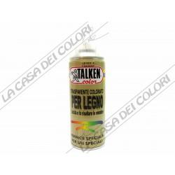 TALKEN - SPRAY - TRASPARENTE COLORATO PER LEGNO - 400 ml - TINTA A SCELTA