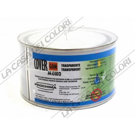 PROCHIMA - COVERGOM MONO - TRASPARENTE - 250 G - ELASTOMERO MONOCOMPONENTE