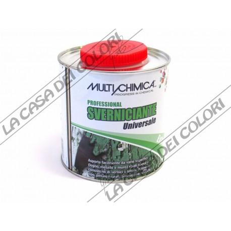 MULTICHIMICA - SVERNICIANTE UNIVERSALE PROFESSIONAL - 750 ml - SVERNICIATORE