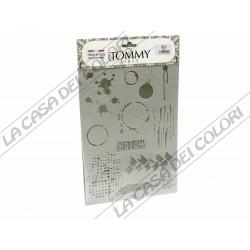 TOMMY ART - STENCIL 21x30cm - SMX810 - MACCHIE