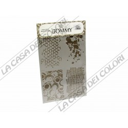 TOMMY ART - STENCIL 21x30cm - SMX816 - TEXTURE MISTE 3