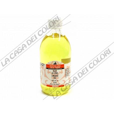 MAIMERI - 650 OLIO DI LINO - 500 ml - AUSILIARI PER PITTURA AD OLIO