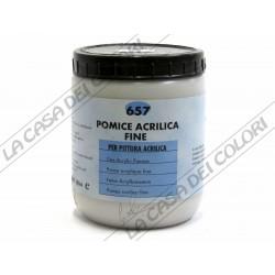 MAIMERI - 657 POMICE ACRILICA FINE - 500 ml - AUSILIARI PITTURA AD ACQUA
