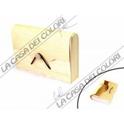 RAYHER - BOX MORBIDO - 18x12x24 cm - SCATOLA IN LEGNO