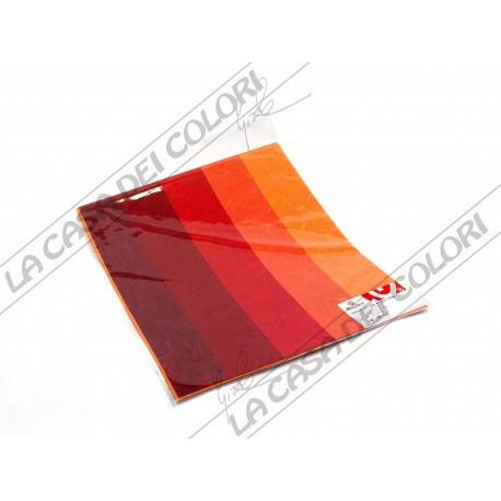RAYHER - SET CARTA DIN A3 - BLISTER 5 FOGLI - TONI ROSSI