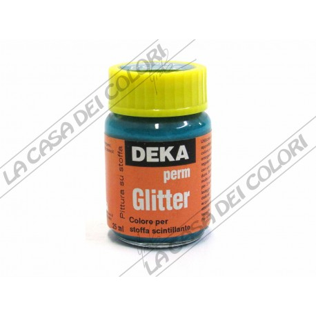DEKA - PERM-GLITTER - 25 ml - 24-58 glitter turkis
