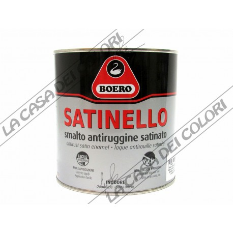 BOERO SATINELLO - 0,750 litri - TINTE AL CAMPIONE