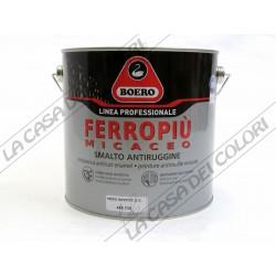 BOERO FERROPIU' MICACEO - TINTE CARTELLA ANTICHIZZATE - 2,5 litri