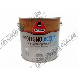 BOERO - BIOLEGNO ACQUA - 2,5 lt - TINTE CARTELLA E TINTOMETRO