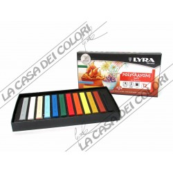 LYRA REMBRANDT - POLYCRAYONS SOFT - CONF. 12 GESSETTI - GESSI ARTISTICI