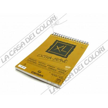CANSON - XL EXTRA-WHITE - ALBUM SPIRALATO - A4 - CARTA 90 g/mq - 120 FOGLI