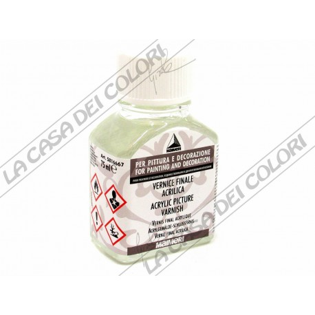 MAIMERI - 667 VERNICE FINALE ACRILICA - 75 ml - VERNICE FINALE CON FILTRO UV