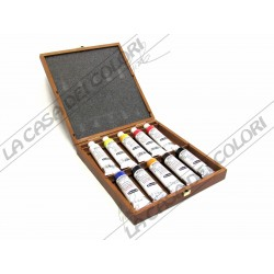 Schmincke Mussini - set colori a olio - 10 tubi 35 ml - 70 010 097