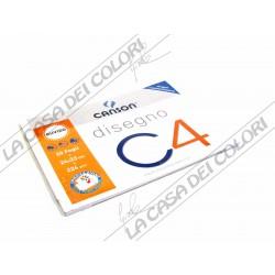 CANSON C4 -RUVIDO - 224 g/mq - 24x33cm - BLOCCO 20FG 4 ANGOLI