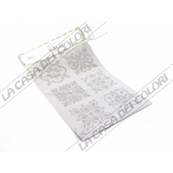 TOMMY ART - STENCIL 21x30cm - SP430 - DECORI MAIOLICHE