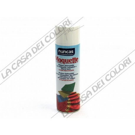 NUNCAS - MOQUETTE SPRAY - 500 ml - PULIZIA MOQUETTE E TESSUTI