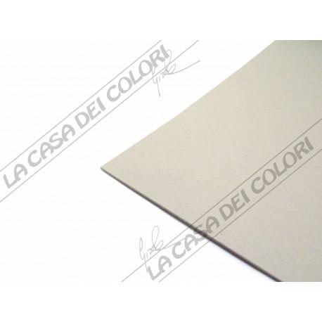 CARTONE ACCOPPIATO LISCIATO - GRIGIO - 50x70 cm - SPESSORE 1,5 mm