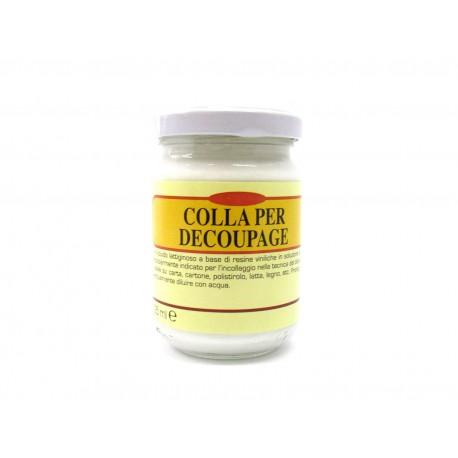 COBEA - COLLA ALL'ACQUA PER DECOUPAGE CON TOVAGLIOLI - 150 ml