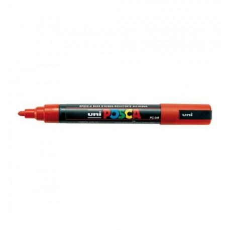 UNI POSCA - UNIPOSCA - ROSSO - PC5M - TRATTO 1,8-2,5 mm