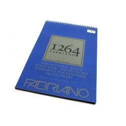 FABRIANO 1264 DISEGNO NERO - A3 - 200 g/m2 - BLOCCO 40 FOGLI