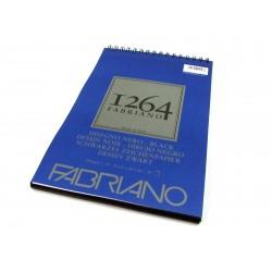 FABRIANO 1264 DISEGNO NERO - A4 - 200 g/m2 - BLOCCO 40 FOGLI