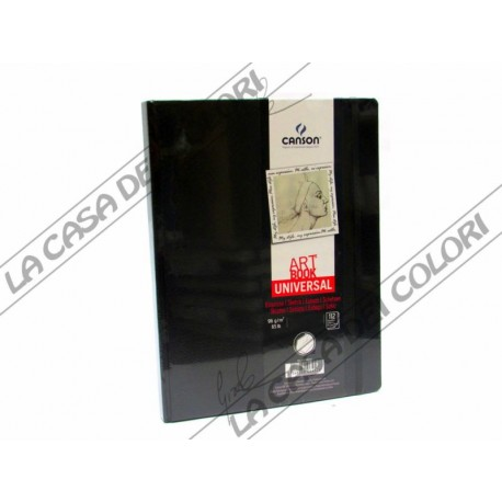 CANSON - ART BOOK UNIVERSAL- 27,9x35,6cm - CARTA 96 g/mq