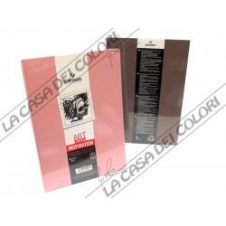 CANSON - ART BOOK INSPIRATION - A6 10,5x14,8 cm - 96g/mq - 1 ROSA + 1 TORTORA