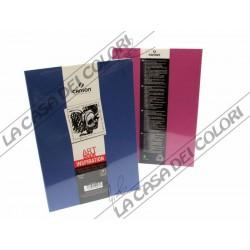 CANSON - ART BOOK INSPIRATION - A6 10,5x14,8 cm - 96g/mq - 1 BLU + 1 FUCSIA