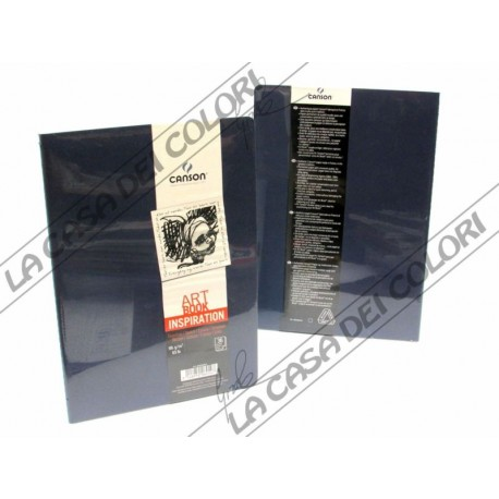 CANSON - ART BOOK INSPIRATION - A4 21x29,7 cm - 96g/mq - 2 BLU INDACO