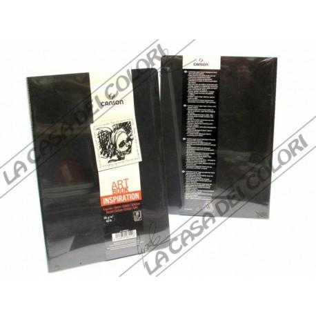 CANSON - ART BOOK INSPIRATION - A4 21x29,7 cm - 96g/mq - 2 NERI